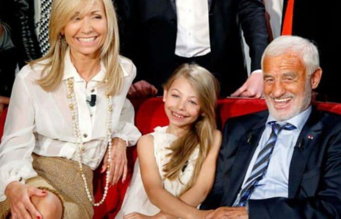 Актер со второй женой и дочерью Стеллой