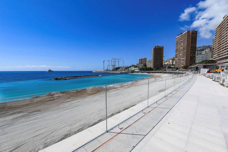Открытие морского курорта Ларвотто в Монако