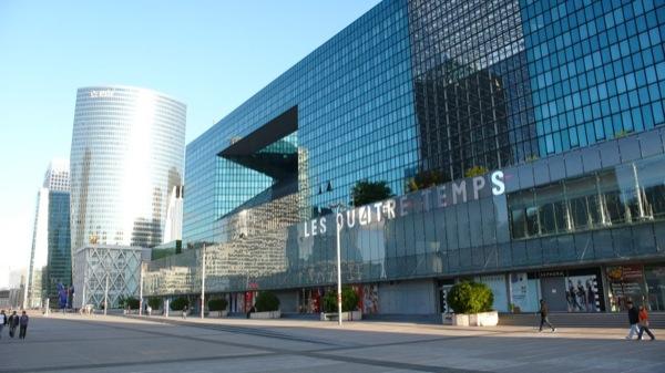 Торговый центр Les Quatre Temps (Ле Катр Тамп)