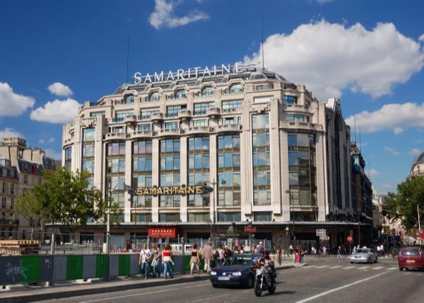 Торговый центр Samaritaine, или La Samaritaine (Ла Самаритен)