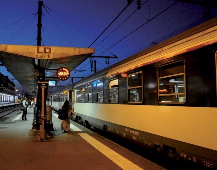 Парижанам снова стали доступны ночные поезда до Ниццы