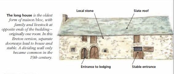 Длинные дома