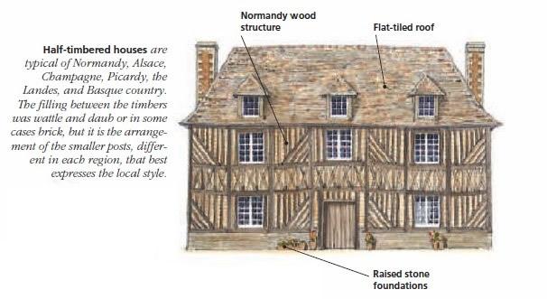 Фахверковые дома (Maison à colombages)
