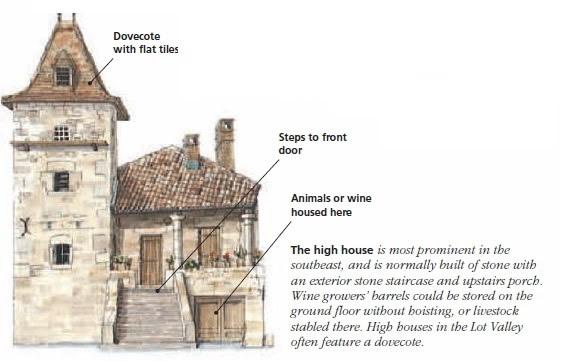 Высокие дома