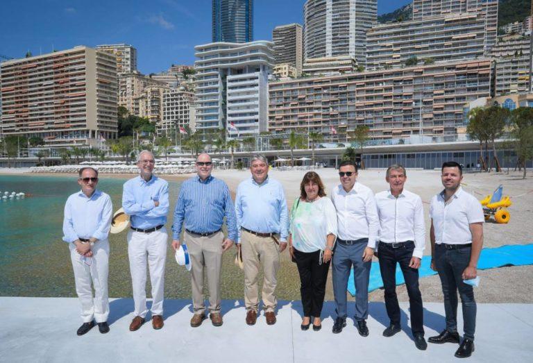 открытие пляжного комплекса Ларвотто в Монако