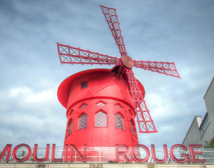 Мулен Руж в Париже